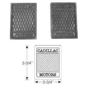 1936 1937 1938 1939 1940 Cadillac Rubber Pedal Pads 1 Pair REPRODUCTION Free Shipping In The USA