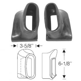1936 1937 Cadillac (See Details) Rear Rubber Bumper Grommets 1 Pair REPRODUCTION Free Shipping In The USA