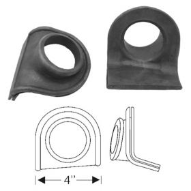 1934 1935 1936 1937 Cadillac Rear Bumper Rubber Grommet 1 Pair REPRODUCTION Free Shipping In The USA