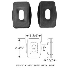 1937 1938 1939 1940 Cadillac Brake And Clutch Shank Rubber Grommet 1 Pair REPRODUCTION Free Shipping In The USA