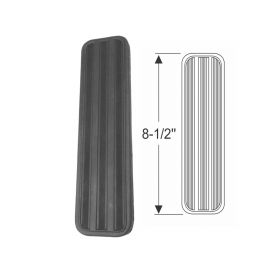 1938 1939 Cadillac Black Accelerator Pedal Rubber Pad REPRODUCTION Free Shipping In The USA