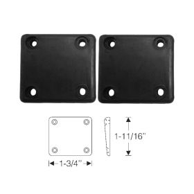 1937 1938 1939 1940 1941 1942 1946 1947 1948 1949 1950 1951 1952 1953 1954 Cadillac 2-Door (See Details) Door Side Rubber Bumper 1 Pair REPRODUCTION Free Shipping In The USA