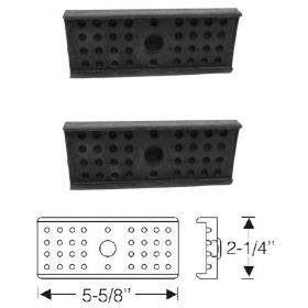 1936 1937 1938 1939 1940 1941 1942 1946 1947 1948 1949 1950 1951 1952 1953 Cadillac Rear Leaf Spring Insulator Pads 1 Pair REPRODUCTION Free Shipping In The USA