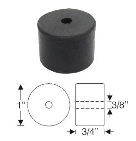 1941 1942 1946 1947 1948 1949 Cadillac (See Details) Roller Hood Center Rubber Rest REPRODUCTION Free Shipping (See Details)