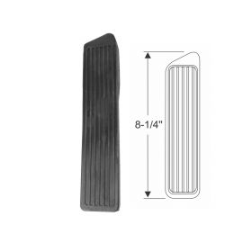 1941 1942 1946 1947 1948 1949 1950 1951 1952 1953 Cadillac Black Accelerator Pedal Rubber Pad REPRODUCTION Free Shipping In The USA