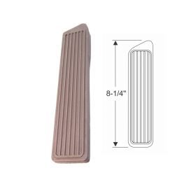1941 1942 1946 1947 1948 1949 1950 1951 1952 1953 Cadillac Brown Accelerator Pedal Rubber Pad REPRODUCTION Free Shipping In The USA