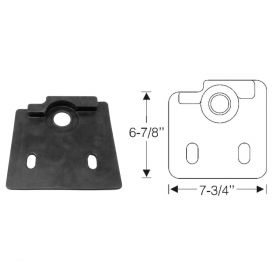 1937 1938 Cadillac (See Details) Steering Column Floorplate REPRODUCTION Free Shipping In The USA