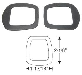 1937 1938 1939 1940 1941 1942 1946 1947 1948 1949 Cadillac (See Details) Windshield Wiper Transmission Rubber 1 Pair REPRODUCTION