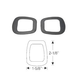 1938 1939 1940 Cadillac (See Details) Windshield Wiper Transmission Rubber Gaskets 1 Pair REPRODUCTION