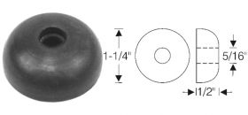 Cadillac Door Check Link Rod Rubber End Stop REPRODUCTION
