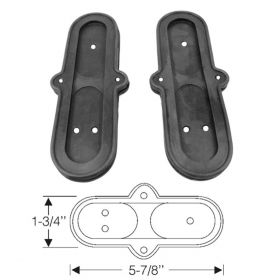 1934 1935 1936 1937 Cadillac (See Details) Ride Regulator Control Rubber Grommet 1 Pair REPRODUCTION Free Shipping In The USA
