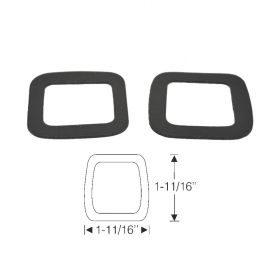1942 1946 1947 Cadillac (See Details) Windshield Wiper Transmission Rubber Gaskets 1 Pair REPRODUCTION
