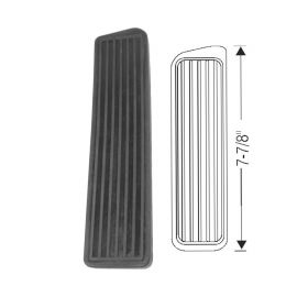 1940 Cadillac Black Accelerator Pedal Rubber Pad REPRODUCTION Free Shipping In The USA