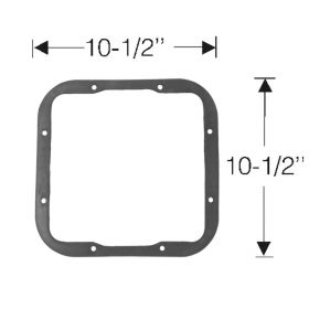1949 Cadillac Heater To Firewall Rubber Gasket REPRODUCTION Free Shipping In The USA