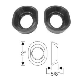 1946 1947 1948 1949 1950 1951 1952 1953 Cadillac Brake and Clutch Shank Rubber Grommets 1 Pair REPRODUCTION Free Shipping In The USA