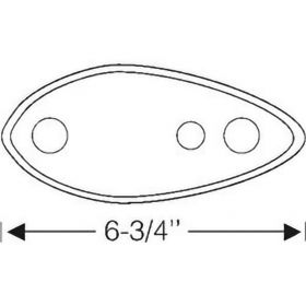 1935 1936 Cadillac LaSalle (See Details) Rubber Headlight Mounting Pads 1 Pair REPRODUCTION Free Shipping In The USA