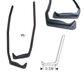 1954 1955 1956 1957 1958 Cadillac (See Details) Front Door Auxiliary J Rubber Weatherstrips 1 Pair REPRODUCTION Free Shipping in the USA
