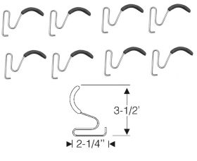 1946 1947 1948 1949 Cadillac (See Details) Rear Bumper Anti-Rattle Gravel Deflectors Set (8 Pieces) REPRODUCTION Free Shipping In The USA