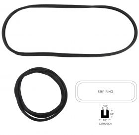 1938 1939 1940 1941 Cadillac Series 60 Special Windshield Rubber Weatherstrip REPRODUCTION Free Shipping In The USA