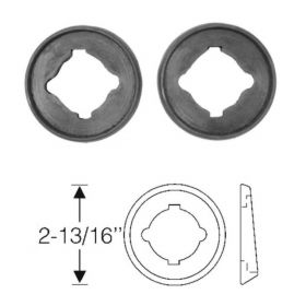 1948 1949 Cadillac (EXCEPT Series 75 Limousine) Backup Light Rubber Mounting Pads 1 Pair REPRODUCTION Free Shipping In The USA