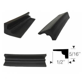 1942 1946 1947 1948 1949 1950 1951 1952 1953 1954 1955 Cadillac Side Window Sash Channel Rubber Weatherstrip REPRODUCTION