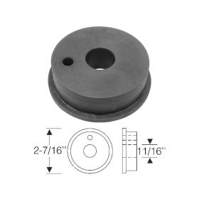 1938 1939 1940 Cadillac Cowl Vent Drain Throttle Cable Firewall Rubber Grommet REPRODUCTION Free Shipping In The USA