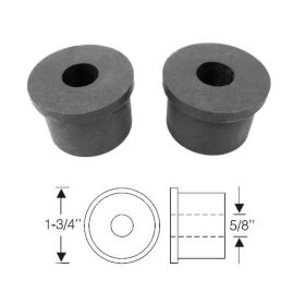 1935 1936 Cadillac (See Details) Rear Spring Rubber Bushings 1 Pair REPRODUCTION Free Shipping In The USA