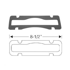 1948 1949 1950 1951 1952 1953 Cadillac (See Details) License Plate Light Lens Rubber Gasket REPRODUCTION Free Shipping In the USA