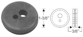 1938 1939 1940 Cadillac Firewall Rubber Grommet With 2-Holes REPRODUCTION