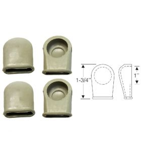 1948 1949 Cadillac Convertible Top Arm Rubber Covers (4 Pieces) REPRODUCTION Free Shipping In The USA