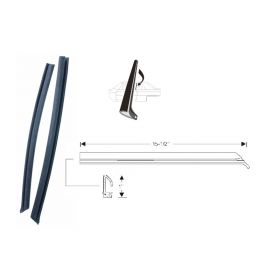 1967 1968 1969 1970 Cadillac Eldorado Side Window Leading Edge Weatherstrips 1 Pair REPRODUCTION Free Shipping In The USA