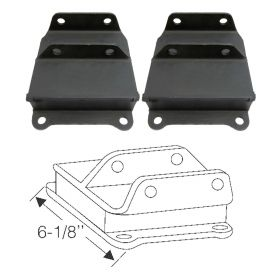 1936 1937 Cadillac Series 80 and Series 85 (See Details) Intermediate Engine Mounts 1 Pair REBUILT Free Shipping In The USA