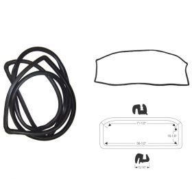 1962 Cadillac 2-Door and 4-Door (See Details) Windshield Rubber Weatherstrip REPRODUCTION Free Shipping In The USA