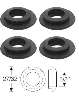 1946 1947 1948 1949 1950 1951 1952 1953 1954 1955 1956 1957 1958 1959 1960 1961 Cadillac 2-Door Convertible Power Top Cylinder Rubber Spacers Set (4 Pieces) REPRODUCTION
