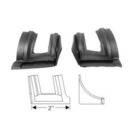 1959 1960 Cadillac 4-Door (EXCEPT Series 75 Limousines) Front Door Lock Pillar Filler Seals 1 Pair REPRODUCTION Free Shipping In The USA