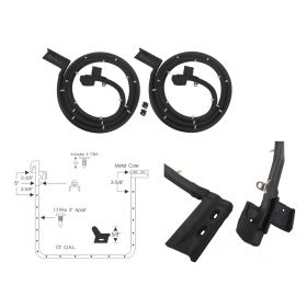 1962 1963 1964 Cadillac Deville And Series 62 4-Door Hardtop Rear Door Rubber Weatherstrips 1 Pair REPRODUCTION Free Shipping In The USA
