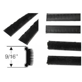 1961 1962 1963 1964 1965 1966 1967 1968 1969 1970 Cadillac Inner Window Sweeps 1 Pair REPRODUCTION Free Shipping In The USA
