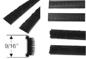 1961 1962 1963 1964 1965 1966 1967 1968 1969 1970 Cadillac Inner Window Sweep 1 Pair REPRODUCTION