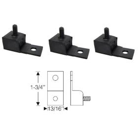 1950 1951 1952 1953 Cadillac Hydraulic Firewall Pump Bracket and Pads Set 3 Pieces REPRODUCTION Free Shipping In The USA