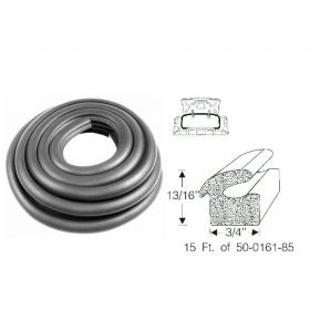 1940 1941 1942 1946 1947 1948 1949 Cadillac (See Details) Trunk Rubber Weatherstrip REPRODUCTION Free Shipping In The USA