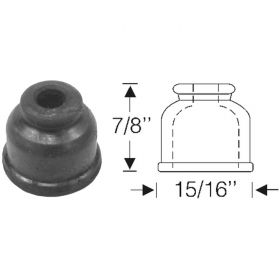 Cadillac Spark Plug Rubber Grommet REPRODUCTION