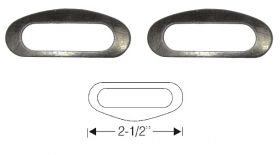1935 1936 1937 Cadillac Windshield Wiper Transmission Mounting Gaskets 1 Pair REPRODUCTION
