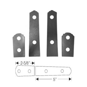 1941 1942 1946 1947 1948 1949 Cadillac Series 75 Limousine Trunk Hinge Rubber Mounting Pad Set (4 Pieces) REPRODUCTION Free Shipping In The USA
