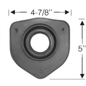1956 1957 1958 Cadillac (See Details) Steering Column Rubber Floor Plate REPRODUCTION Free Shipping In The USA
