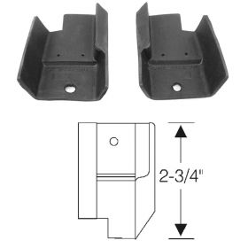 1957 1958 Cadillac 4-Door Hardtop (EXCEPT Eldorado Brougham and Series 75) Rear Door Hinge Pillar 1 Pair REPRODUCTION Free Shipping In The USA