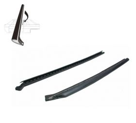 1971 1972 1973 1974 1975 1976 Cadillac Calais and Deville 4-Door Hardtop Side Window Leading Edge Rubber Weatherstrips 1 Pair REPRODUCTION Free Shipping In The USA