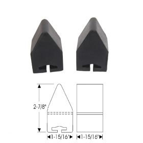 1962 1963 1964 1965 Cadillac Commercial Chassis Axle Rebound Pads 1 Pair REPRODUCTION Free Shipping In The USA
