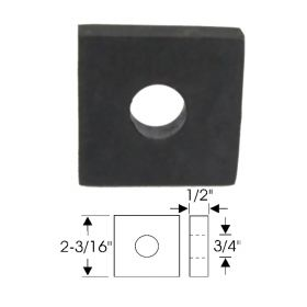 1954 1955 1956 1957 1958 1959 1960 1961 1962 1963 1964 1965 Cadillac (See Details) Square Body Mount Pad REPRODUCTION