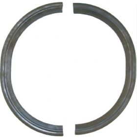 1954 1955 Cadillac Outer Headlight Retainer Seals 1 Pair REPRODUCTION Free Shipping In The USA