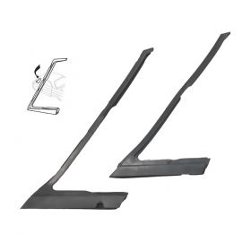1966 1967 1968 Cadillac 4-Door Pillared Sedan (EXCEPT Series 75 Limousine) Vent Window Weatherstrips 1 Pair REPRODUCTION Free Shipping In The USA